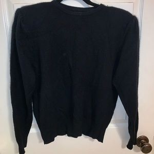 Vintage Sweater With Shoulder Pads